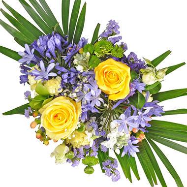 Golden Periwinkle Mixed Bouquet - 7 pk.