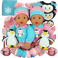 Brass Key Celebrating Twins Vinyl Dolls - Polar Cuties (Hispanic)