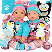 Brass Key Celebrating Twins Vinyl Dolls - Polar Cuties