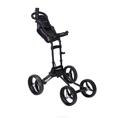 Bag Boy Quad Plus Cart - Matte Black