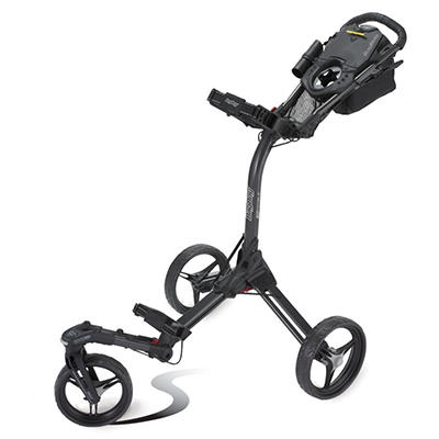 Bag Boy Tri Swivel II Cart - Matte Black