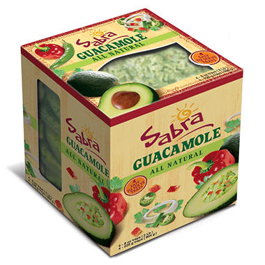 Sabra All Natural Guacamole (8 oz., 4 ct.)