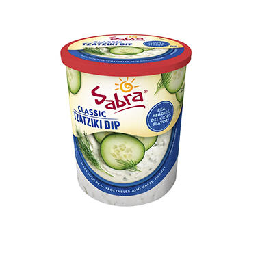 Sabra Tzatziki Cucumber Dill Greek Yogurt Dip (24 oz ...