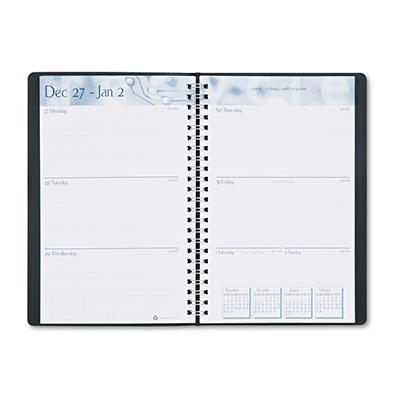 House of Doolittle - Academic Weekly/Monthly Appointment Book/Planner, 5 x 8, Black -  2014-2015
