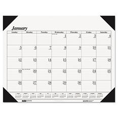 House of Doolittle - Workstation-Size One-Color Monthly Desk Pad Calendar, 18-1/2 x 13 -  2015