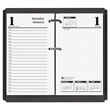 House of Doolittle - Economy Daily Desk Calendar Refill - 3-1/2w x 6h - 2014