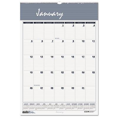 House of Doolittle Bar Harbor Wirebound Monthly Wall Calendar, 22 x 31-1/4 -  2015