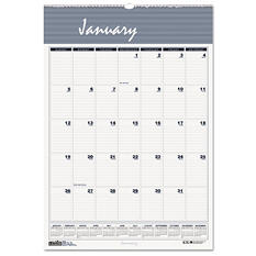 House of Doolittle Bar Harbor Wirebound Monthly Wall Calendar, 22 x 31-1/4 -  2015