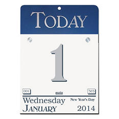 House of Doolittle Today Wall Calendar Refill, 6 x 6 -  2015