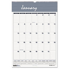 House of Doolittle - Bar Harbor Wirebound Monthly Wall Calendar, 15-1/2 x 22 -  2016
