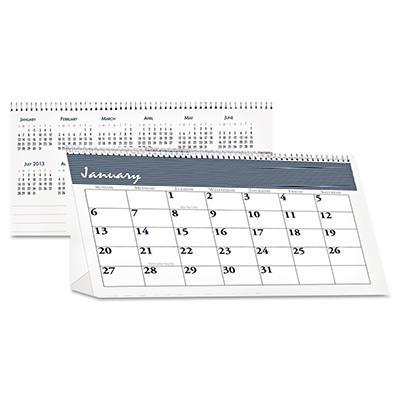 House of Doolittle Bar Harbor Desk Tent Monthly Calendar, 7 x 4-1/4 -  2015