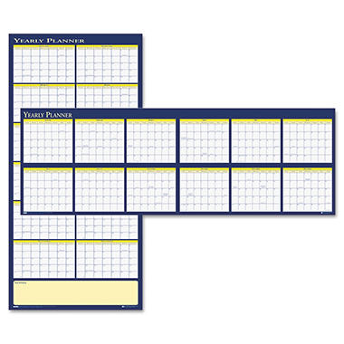 House of Doolittle - Reversible Yearly Wall Planner, 60 x 26, 2013