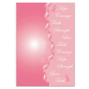 House of Doolittle - Breast Cancer Awareness Monthly Planner/Journal, 7 x 10, Pink -  2016
