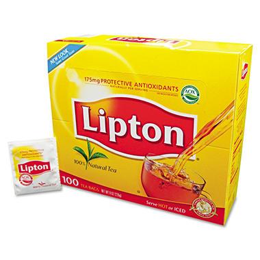 Lipton Tea Bags - 100 bags