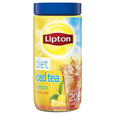 Lipton Diet Iced Tea Mix, Lemon (5.9 oz., makes 20 quarts)