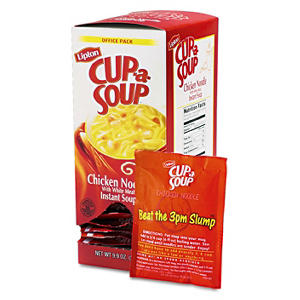 Lipton's Cup-A-Soup