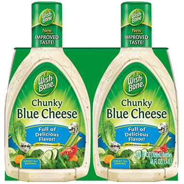 Wish-Bone Chunky Blue Cheese Dressing - 24 oz. - 2 pk.