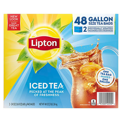 Lipton® Iced Tea Brew Gallon Size Tea Bags - 48 ct.