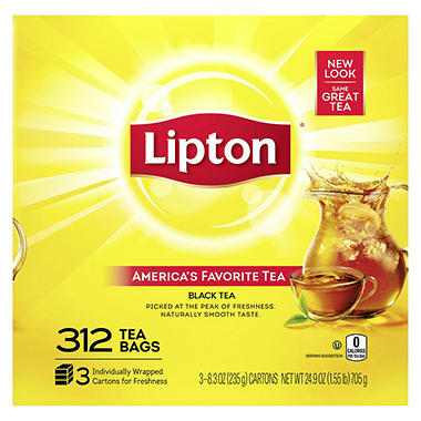 Lipton Tea Bags - 312 ct.