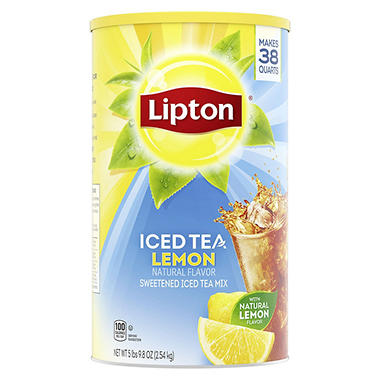 Lipton Lemon Iced Tea Mix - 100 oz.