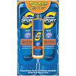 Coppertone Sport Sunscreen Lotion SPF 30 - 8 oz. - 2 pk. + .6 oz. Stick