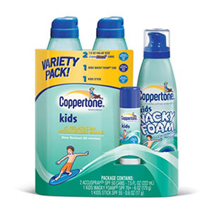 Coppertone Kids Variety Pack