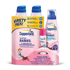 Coppertone Water Babies Variety Pack