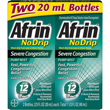 Afrin� No Drip Severe Congestion - 2/20ml