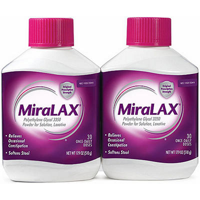 MiraLAX® Laxative - 2 pk.