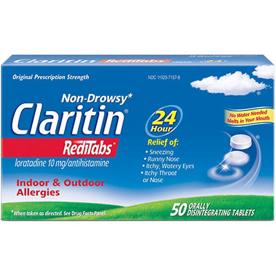 Claritin RediTabs Non Drowsy - 50 ct.