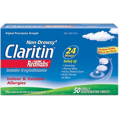 Claritin RediTabs Non Drowsy (50 ct.)