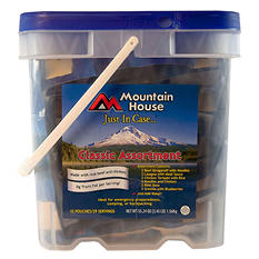 Mountain House Classic Assortment Emergency Food Bucket (29 servings)