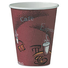 Solo Hot Paper Cups, 8 oz. (500 ct.)