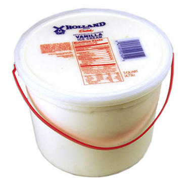 Holland Dutch Vanilla - 5 qt. Pail