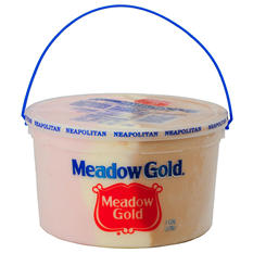 Meadow Gold Neapolitan Ice Cream - 4 qt.