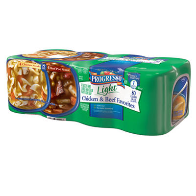 Progresso Light Chicken/Beef Combo - 8/18.5 oz.