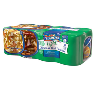 Progresso® Light Chicken/Beef Combo - 8/18.5 oz.