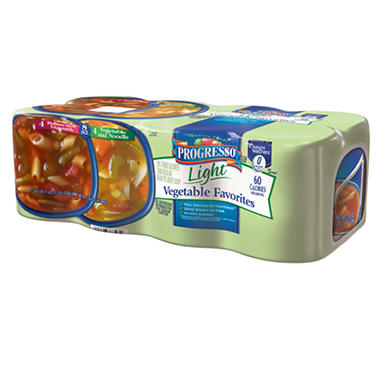 Progresso Light Vegetable Soup - 8/18.5oz
