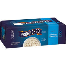 Progresso Traditional New England Clam Chowder (18.5 oz., 8 pk.)