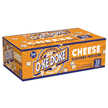 Jays O-Ke-Doke Cheese Flavored Popcorn - 1 oz. bags - 30 ct.