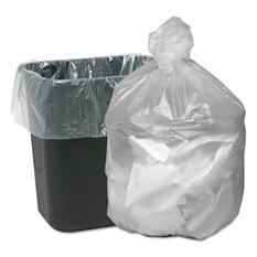 Good 'n Tuff - High Density Waste Can Liners, 16gal, 5mic, 24 x 31, Natural -  1000/Carton