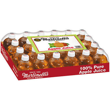 Martinelli's Apple Juice - 10 oz. bottles - 24 pk.