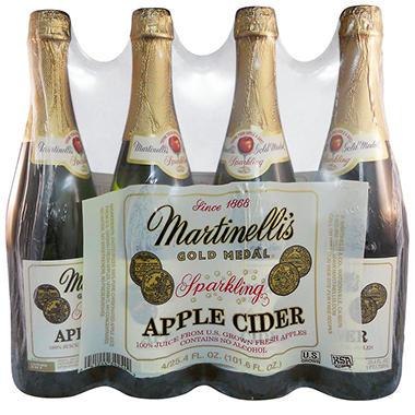 Martinelli's Gold Medal® Sparkling Cider - 4/25.4 oz.