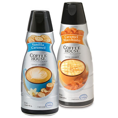 International Delight® Coffee House Inspirations™ Caramel Macchiato & Vanilla Latté Coffee Creamers - 2/32 oz.