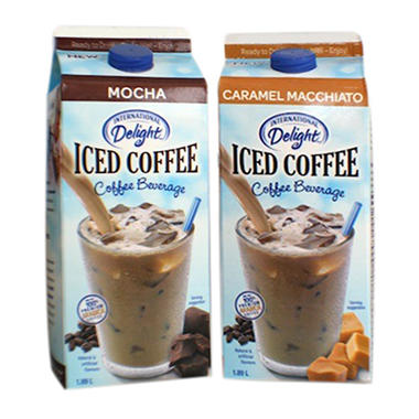 International Delight Caramel Macchiato Mocha Iced Coffee