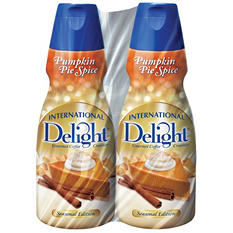 International Delight Gourmet Coffee Creamer, Pumpkin Pie Spice (32 oz., 2 pk.)