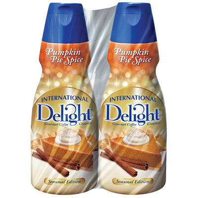 International Delight Pumpkin Pie Spice Creamer - 32 oz. - 2 pk.