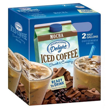 International Delight Mocha Iced Coffee -  2/64 oz.