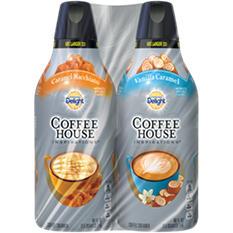 Coffee House Inspirations Coffee Creamer - Vanilla Caramel, Caramel Macchiato (48 fl. oz., 2 pk.)
