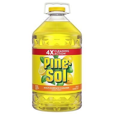 Pine-Sol Multi-Surface Cleaner - Lemon Fresh Scent - 175 oz.